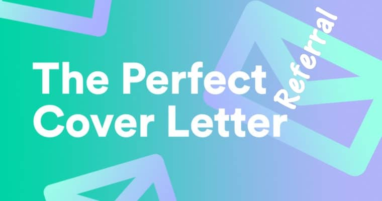 Great Referral Cover Letters
